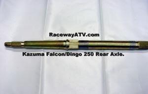 Kazuma Falcon/Dingo 250 Rear Axle at Raceway ATV
