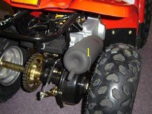 Kazuma Kmx Meerkat 50cc Complete Muffler At Raceway Atv