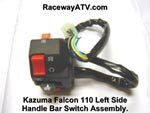 Kazuma Falcon / SFX 110 L/S Handle Bar Switch Assembly