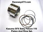Kazuma Falcon / SFX 110 Piston & Ring Set
