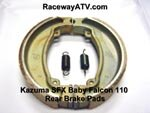 Kazuma Falcon / SFX 110 Rear Drum Brake Shoes