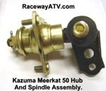 Kazuma / Meerkat 50 Hub and Spindle Assembly
