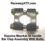 Kazuma / Meerkat 50 Handle Bar Clamp Assembly