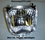 Mini Sunl/Roketa/BMX 70, 90, 95cc Headlight