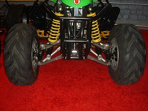 Kazuma ATV 3 inch Wheel Spacers at Raceway ATV